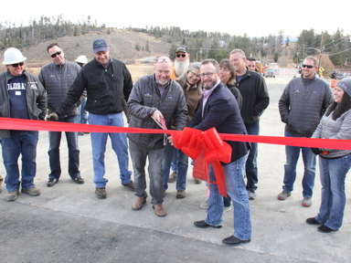 County Road 8 Bridge completed ahead of schedule