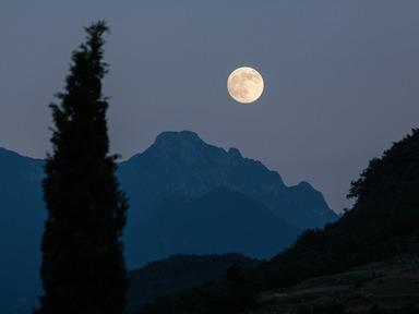 Expect a bright Hunter's Moon