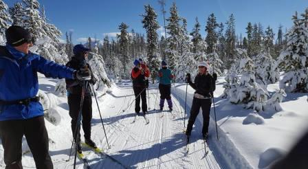 Free Cross Country Ski Lessons - Grand Lake Nordic Center