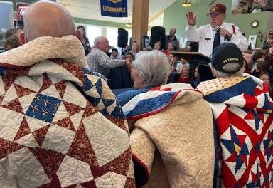 Local Veterans honored with handmade quilts