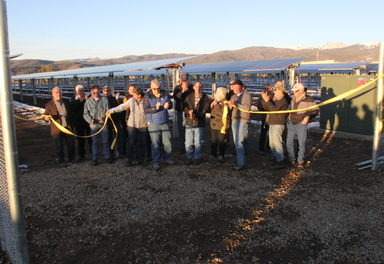 MPE dedicates new 1 Megawatt Tom Sifers Solar Array in Fraser