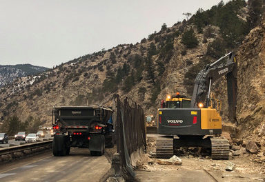 I-70 Rockfall Mitigation to continue for weeks
