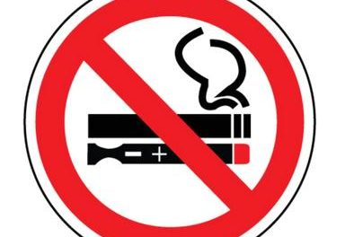 Anti-vaping posters created by MPHS freshman class aimed at education