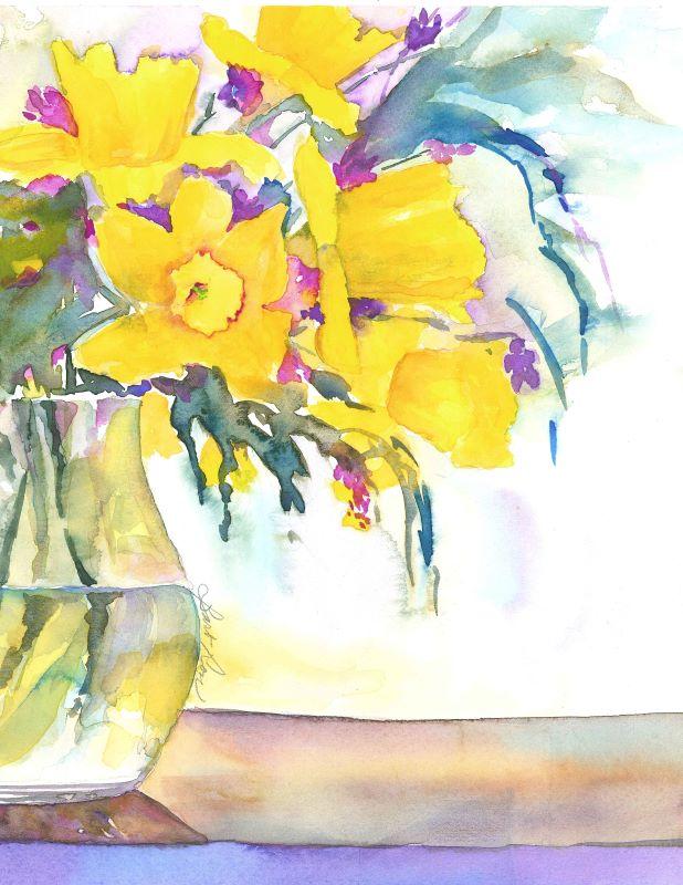Hospice Daffodils