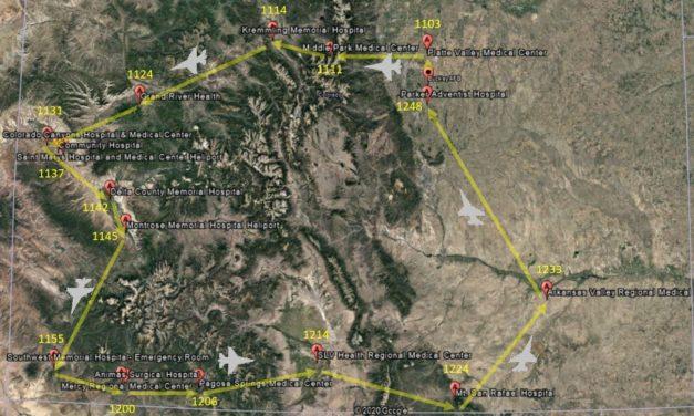Second Colorado Air National Guard flyover salutes more COVID-19 response heroes