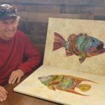 Fabric Fishy: Mike Evans – An artist eye for something different