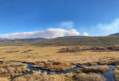Dry conditions keep Williams Fork Fire active