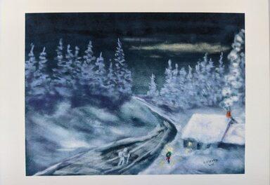 1874 Christmas at Hot Sulphur Springs