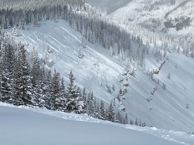Avalanche Danger Considerable