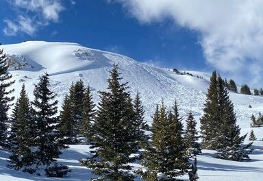 Dangerous backcountry conditions exist