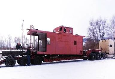 Caboose added to collection at Railroad Museum